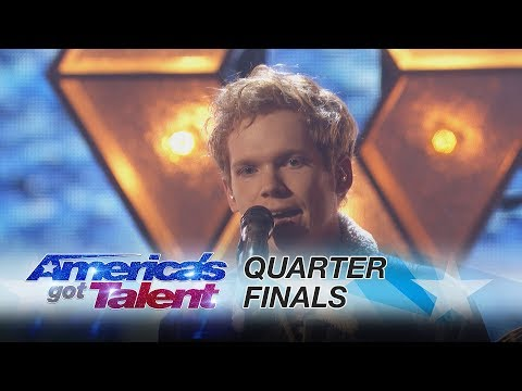 "Chase Goehring: Singer Performs His Original Song ""Illusion"" - America's Got Talent 2017"
