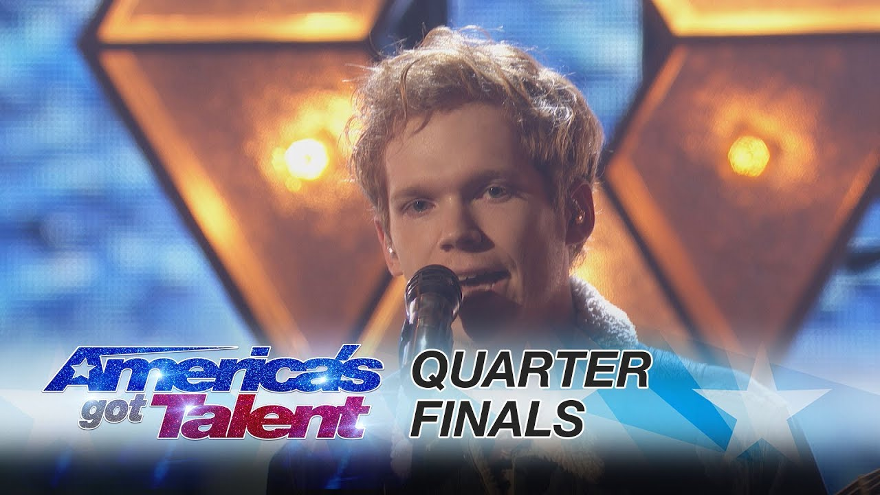 Americas got talent 2017 male singer - Chase Goehring Singer Performs His Original Song Illusion America S Got Talent 2017