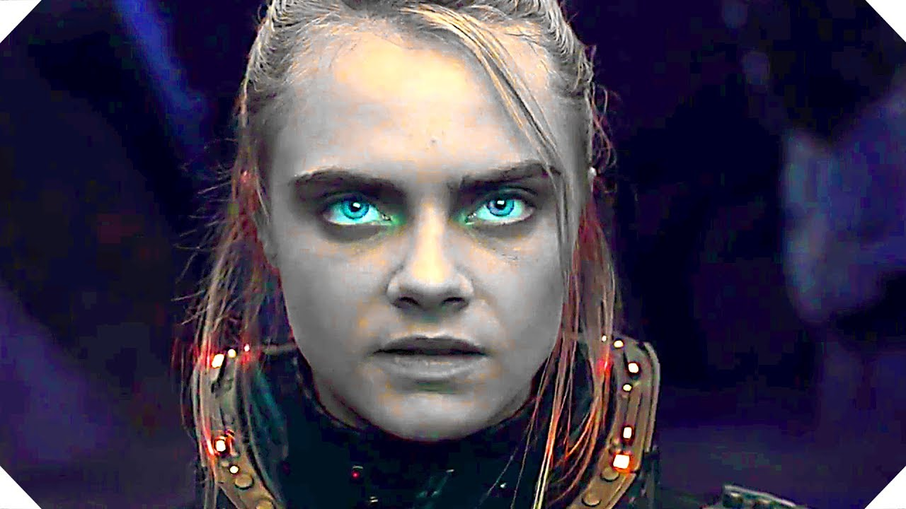 Valerian Official New Trailer Movie Hd Cara Delevingne New