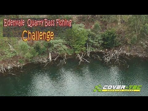 Bass Fishing Challenge At Edenvale Quarry