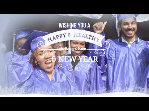 Cape Cod Community College Holiday Greeting