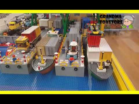 Unboxing TOYS Review/Demos - Big huge lego...