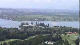 LEH LADAKH, INDIA, BIRD EYE VIEW OF SHRINAGAR CITY FROM PARI MAHAL, VIDEO BY PRASHANT OAK, NAGPUR