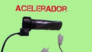 acelerador do triciclo elétrico