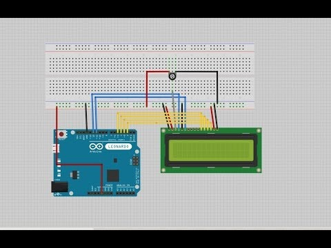 How to connect an LCD to the Arduino - LimeTrace