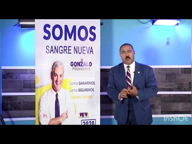 Yomare Polanco : Vota por Gonzalo 2020 Sangre Nueva