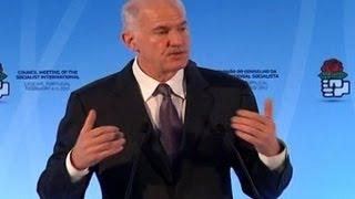 Ex-Primer Ministro griego pide acción a UE por crisis económica