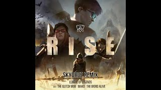 RISE (Skydroz Remix) (ft. The Glitch Mob, Mako, and The Word Alive) | Worlds 2018 [Future Bass]