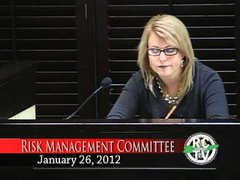 Risk Management Committee - January 26, 2012