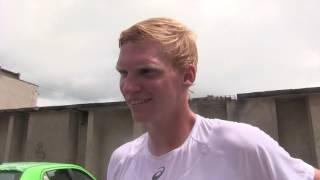 Patrik Malý po prohře v 1. kole kvalifikace na turnaji Futures v Ústí n. O.