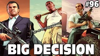 GTA 5 BIG DECISION - KILL TREVOR, KILL MICHAEL OR DEATHWISH?? #96 Grand Theft Auto 5 Funny Moments
