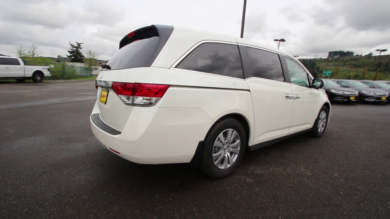 2017 Honda Odyssey Ex L White Diamond Pearl Hb012530 Seattle Sumner