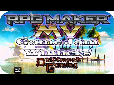 TOP 7 GAMES 2017 DRIFTWOOD GAME JAM   MV GAME JAM WINNERS ANNOUNCED!   RPG MAKER MV   RPGMMV   RMMV