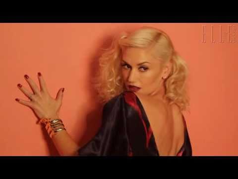Gwen Stefani Elle UK Behind The Cover (April 2011)  #Trend