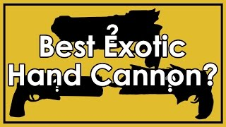 """Destiny: Hawkmoon vs. Thorn vs. Last Word - Is There a """"Best"""" Exotic Hand Cannon?"""