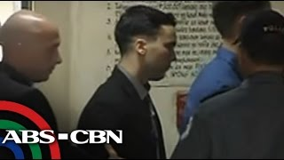 Pemberton back in Camp Aguinaldo after conviction