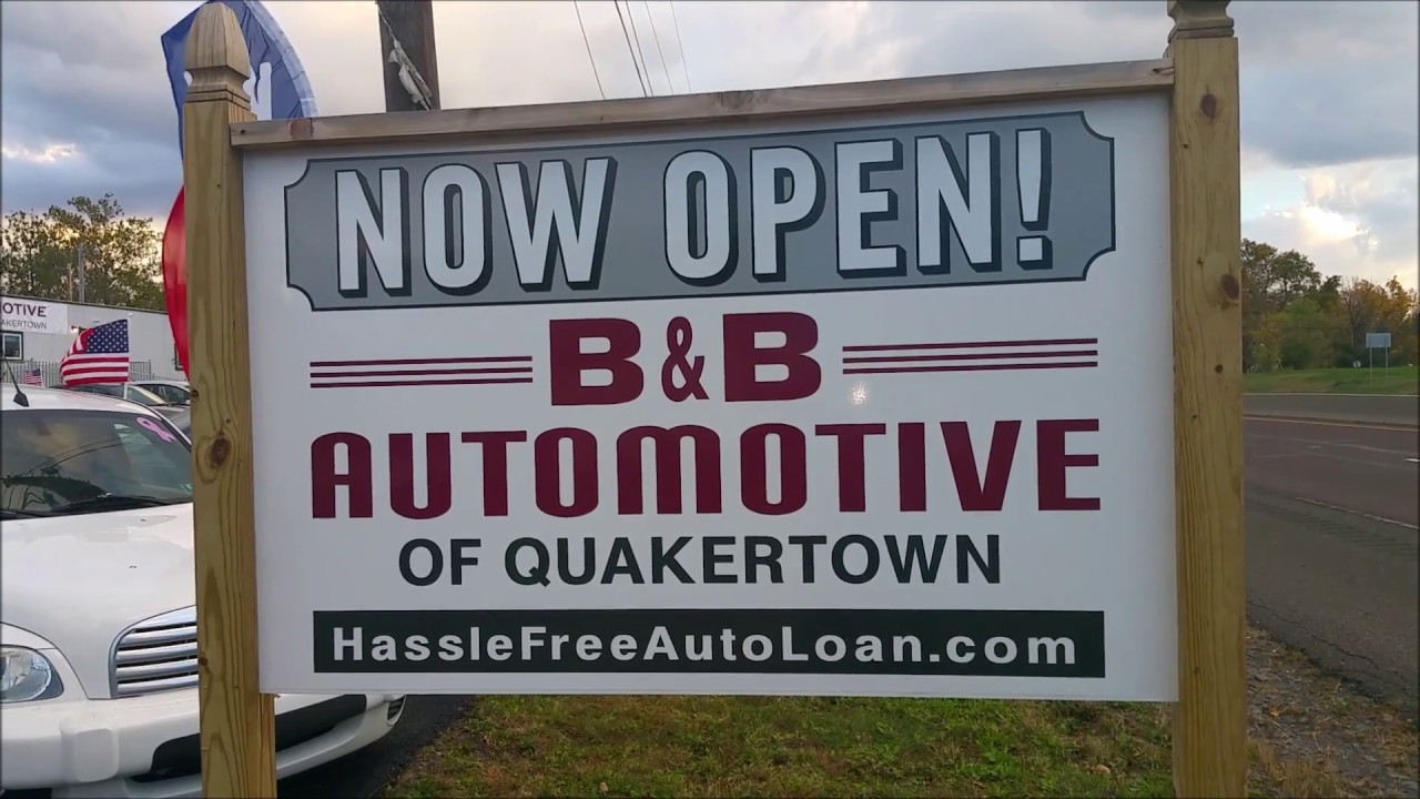 B B Automotive S New Dealership In Quakertown Pa Youtube