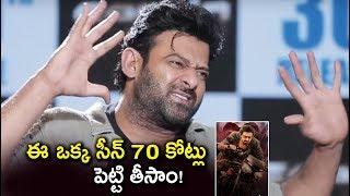 Prabhas Explains About Saaho Action Scenes Budget | Saaho Telugu Movie Interview | Tollywood Nagar