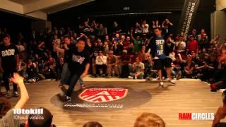 Raw Circles 2013 - Quarter Final - Issei & Shuhei (JAP) Vs Lukas & Klesio (BRA)