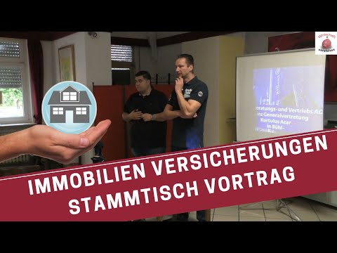 Versicherungen für Immobilien - Kurtulus Acer - Wirtschaft verstehen Stammtisch Vortrag