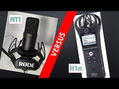 Mikrofon Vergleich: Zoom