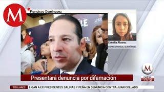Ligan a gobernador de Querétaro con Juan Collado; denunciará por difamación