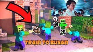 Train to Busan | Minecraft Pocket Edition TAGALOG w/ MarrPlayz