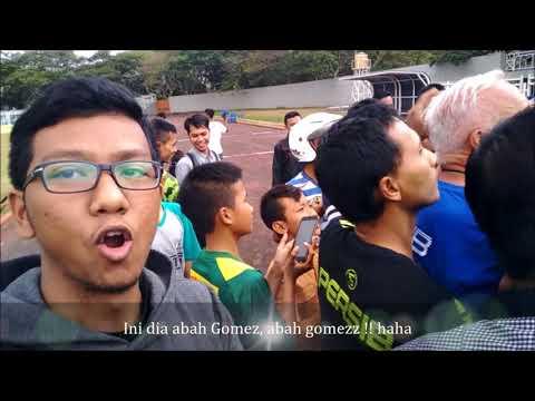 Persib Bandung Berlatih di Stadion Wiradadaha sebelum melawan PSKC Cimahi di Piala Indonesia 2018
