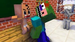 Monster School : BabySitter - Minecraft Animation