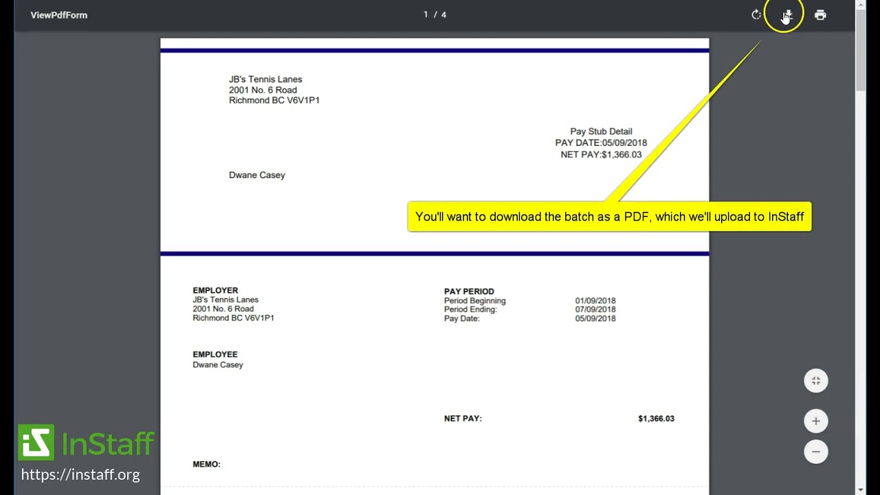 How To Reprint QuickBooks Online Paystubs/Paycheques