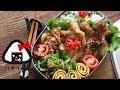 【簡単】【お弁当】はちみつで柔らか♪豚の生姜焼き乗っけ弁当~Today's obento【…