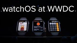 Apple watchOS announcement in 6 minutes