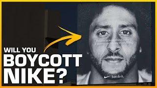 Will You Stop Buying Nike Because of Colin Kaepernick? #JustDoIt #ColinKaepernick