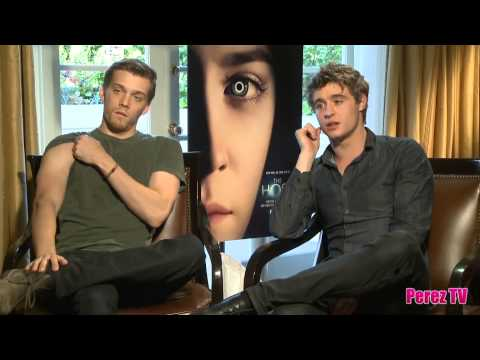 The Host's Jake Abel & Max Irons Chat About Their Love Triangle, Being On Set And More!