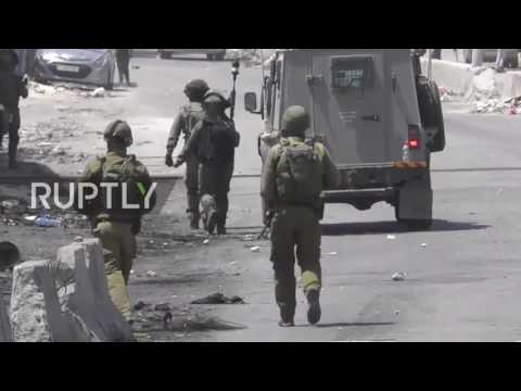 State of Palestine: Protesters injured as IDF fire on Palestinians outside E. Jerusalem