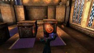 Harry Potter and the Chamber of Secrets game PC, The Golden Wizard Card Challenge