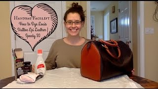 Handbag Facelift | How to Dye Louis Vuitton Epi Leather | Speedy 30