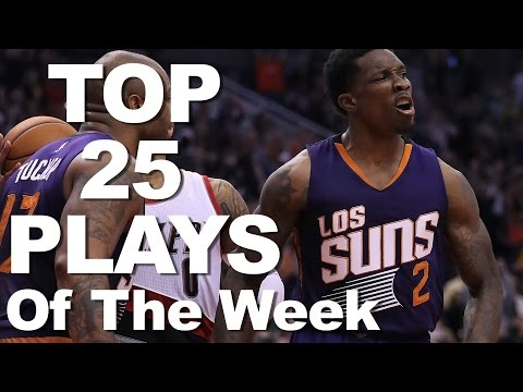 Top 25 Plays of the Week Oct 30 - Nov 6, 2016