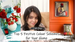 Top 5 Festive Colour Trends & Schemes for Your Home 2019 | DDbE