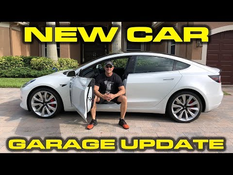 GARAGE UPDATE - Tesla Model 3 Dual Motor Performance Review and Testing