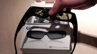 Universal 3D Active Shutter Glasses