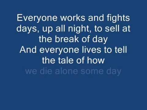 Blink 182 - Up All Night (With Lyrics)