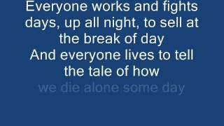 Blink 182 - Up All Night (With Lyrics)