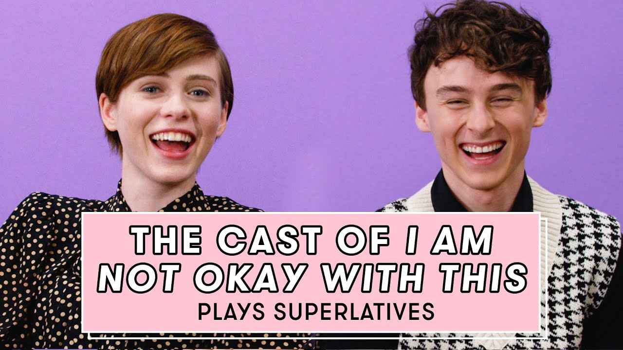 Download Sophia Lillis & Wyatt Oleff from 'I Am Not Okay With This' Reveal Who is Most Like Their Character