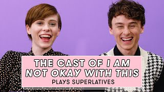 Sophia Lillis & Wyatt Oleff from 'I Am Not Okay With This' Reveal Who is Most Like Their Character