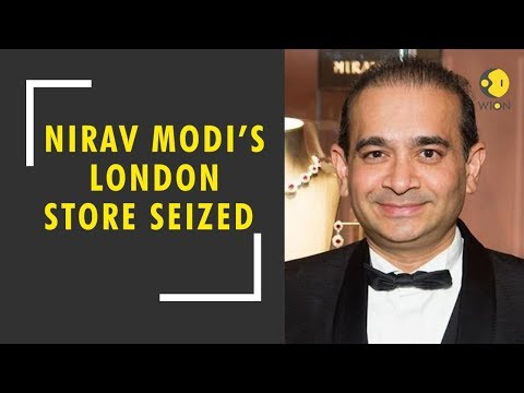 Breaking News: Nirav Modi's London store seized