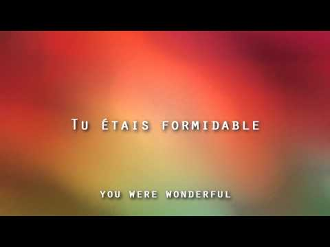 Stromae - Formidable (HD) (lyrics) (Français & English)