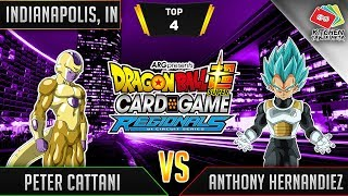 Dragon Ball Super Card Game Gameplay [DBS TCG] Indianapolis Regional Top 4 (Match 2)