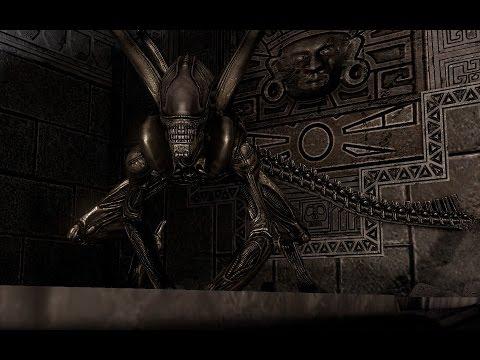 Виды Чужих в игре ALIENS VS. predator (2010)