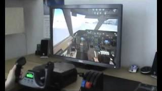 Dell 3008WFP 30   Flight Simulator